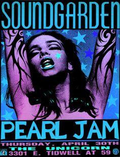 pearl jam/soundgarden. classic.