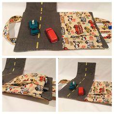 Boy Car Tote no instructions, but good design
