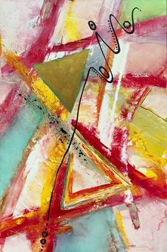 TIMELINE original 24x36 modern abstract painting rustic pallete knife contemporary impressionist red orange yellow blue green silver gold. Brittany Houchin - Studio Evolve Art. COLOR: Red, yellow, orange, blue, green, white, black, gold, silver, and iridescent. Can make something similar in any colors or size, just send me a request.   SIZE: 24in x 36in    MEDIUM: Acrylic paint, texture paste, gloss, matte, and pouring medium, irridescent paint, and varnish.
