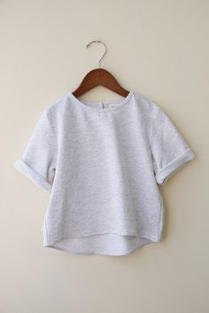 Isabel Crew Heather Grey Boy + Girl Canada
