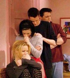 Rachel: We need a break. Ross: Okay! Let's get some yogurt or something. Rachel: No! A break from us!!