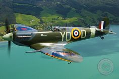 The Supermarine Spitfire Mk. 5. Emblematic warbird of the Royal Air Force, and defender of the British Isles.