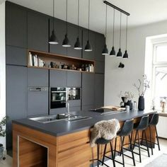 Duvarlarınızı Güzelleştirecek Niş Modelleri-50 Adet   Evde Mimar Neutral Kitchen Designs, Modern Kitchen Design, Functional Kitchen, Stylish Kitchen, Kitchen Sets, New Kitchen, Kitchen Decor, Beach House Kitchens, Home Kitchens