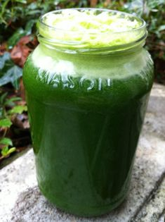 A tasty green juice recipe that uses pears! Got to try this one!  #juicing #greenjuice #juicerecipe