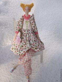 Куклы Тильды ручной работы. Кукла-Тильда Розы на снегу. Елена Rainbow. Интернет-магазин Ярмарка Мастеров. Интерьерная кукла