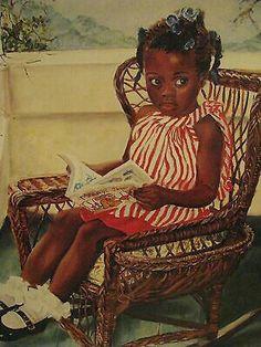 Fairy tale time by merryle jaye 17 x 13 black art print/poster unframed Art Prints, Female Art, Art Girl, Reading Art, Black Girl Art, Art, African American Art, Art Pictures, Posters Art Prints