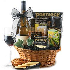 Black Tie Optional Corporate Wine Gift Basket $75.95