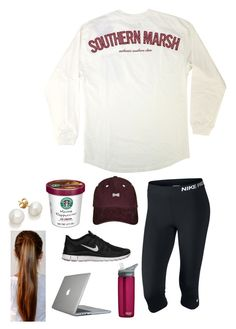 """""""50 questions tag"""" by gingergirll ❤ liked on Polyvore featuring NIKE, Speck and CamelBak"""