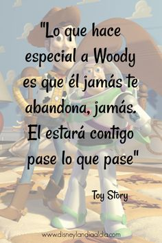Frases Disney, Disney Quotes, Toy Story Quotes, Disney Word, Cute Phrases, Disney Marvel, Disney Wallpaper, Friendship Quotes, Cool Words
