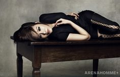 Kim Ah Joong Arena Homme+ Korea Magazine March Issue '11