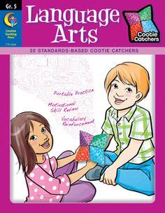 Cootie Catchers: Language Arts, Grade 5 #creativeteachingpress #classroomwishlist #classroomideas