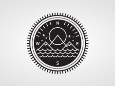 I've thought about a compass tattoo before— maybe something similar to this would be a good choice.