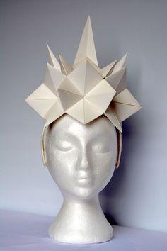 origami head pieces - Pesquisa Google