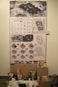 Architecture Panel, Architecture Design, Graduation Project, Cinema Room, Urban Design, Photo Wall, Typography, Layout, Display