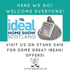 And the doors are open! Pop on down to stand S410 at #IHSS16 in #Glasgow for some great iBeani offers! #iPad #Tablet