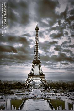 Eiffel Tower - Paris - I was here in 2005.  I remember being moved to tears the first time I saw it.  It is really incredible when you see it in person.