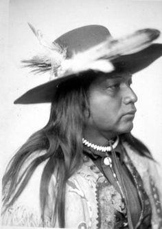 Umatilla man named Chief Sha-wa-wa, Oregon? :: American Indians of the Pacific Northwest -- Image Portion