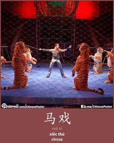 马戏 - mǎ xì - xiếc thú - circus