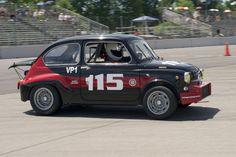 1967 Fiat Abarth driven by Joseph Potter