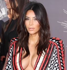 Kim Kardashian at the 2014 MTV Video Music Awards at The Forum in Inglewood, California, on August 24, 2014