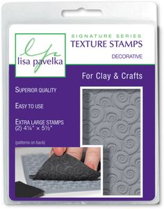 Texture Stamps from Lisa Pavelka
