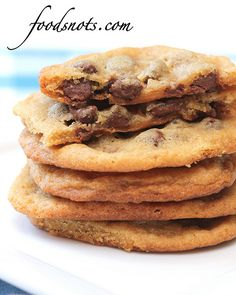 Caramel filled chocolate chip cookie