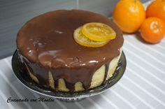 Bizcocho de naranja al microondas      Esta semana os traigo un bizcocho de naranja al microondas . ... Cheesecake, Chocolate, Pudding, Meals, Mini, Desserts, Food, Angeles, Vegetable Dishes