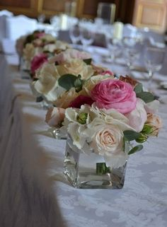 flower arranging | Inspiration for Table Flower Arrangements by lea