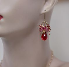Custom Order ~ Athenais in red