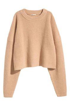 Camisola grossa em lã | H&M