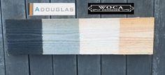 Adouglas kan in de Woca kleuren Antraciet, Grey, White worden gespoten. Awood levert dit graag aan voor de professional. Deze voorbehandeling kan dan later herhaalt worden.