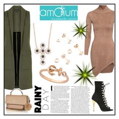 """Amorium jewelry 7"" by gaby-mil ❤ liked on Polyvore featuring Amorium, Topshop, River Island, women's clothing, women, female, woman, misses, juniors and Silver"