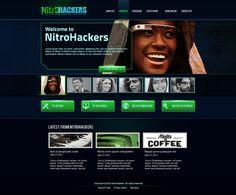 Nitrohackers by Digital-Cows , via Behance