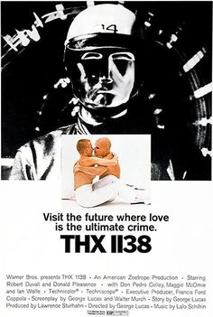 Thx-1138 Poster 24inx36in