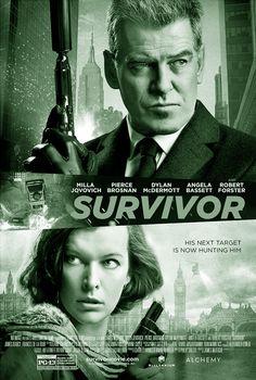 SURVIVOR is een Brits-Amerikaanse actie-thriller uit 2015, geregisseerd door James Mc Teigue. Met in de hoofdrollen Milla Jovovich en Pierce Brosnan
