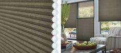 Duette® Architella® honeycomb shades | Hunter Douglas  top down/bottom up opaque