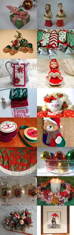 HAPPY HOLIDAYS by ItseeBitsee on Etsy--Pinned with TreasuryPin.com