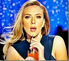 Scarlett Johansson sipping SodaStream Beverage 2 I noticed a very short news piece on Fox News about a commercial for the Super Bowl marketing a natural soda-like drink from a company called SodaStream. The commercial was initially banned by the Fox Network and then recently Fox decided to show it but in a censored fashion.