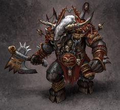 Google Image Result for http://digital-art-gallery.com/oid/19/900x822_5002_Doom_Bull_2d_illustration_creautre_fantasy_barbarian_warrior_picture_image_digital_art.jpg