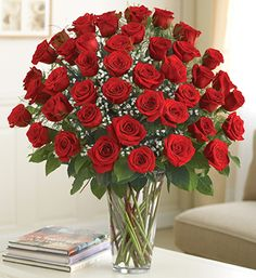 Ultimate Elegance Premium Long Stem Red Roses from 1-800-FLOWERS.COM