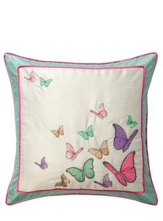 ACCESSORIZE Scatter Butterflies Cushion - cushions  - For The Home
