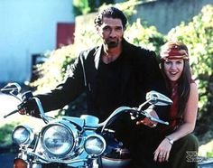 "Kevin Tod Smith, ""Ares, Xena and a motorcycle"" cute, love it."