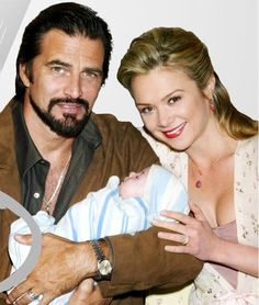 Brittany with baby Joshua and hubby Bobby Marsino