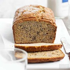 Serve this moist banana-packed bread plain and delicious or top with honey butter for a special treat. If you're searching for a more classic banana bread recipe, this is the one.