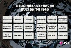 Das Neujahrsansprache Bullshit Bingo on http://www.drlima.net