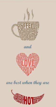 coffee love hot