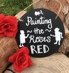 Alice in Wonderland Tea Party Sign Chalkboard Sign Birthday Party Decorations Decor Painting the Roses Red Queen of Hearts Card Soldiers by MadInWonderland on Etsy https://www.etsy.com/listing/291826451/alice-in-wonderland-tea-party-sign