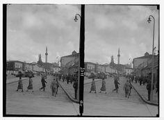 ✿ ❤ Bir Zamanlar Türkiye, 1935 / Eski Ankara Caddesi Ankara, Old Pictures, Once Upon A Time, Istanbul, Past, Nostalgia, History, Street, Antique Photos