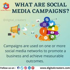 Campaigns are useful for brand promotion and the term digital campaigns, we have a wide range of social media campaigns. Several social media platforms are used for the advertisement, it's a very important part of digital marketing. BE A PART OF THE NEW WORLD OF ADVERTISEMENT.....!!!!! #socialmedia #socialmediamarketing #digitalmarketing #digitalcreaters #branding #business #promotion #campaigns #marketingtips #socialmediamanager #smallbusiness #advertising #onlinemarketing #instagram