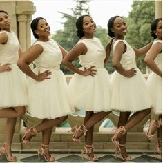 Slaying Bridesmaids! #GraceOutlook #BridesmaidInspiration #9naijaBrides